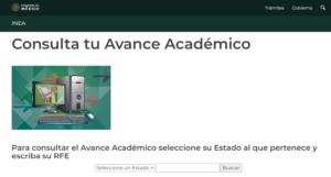 consulta tu avance academico paso 1