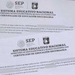 certificado sep ejemplo