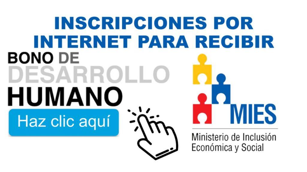Obtener el Bono de Desarrollo humano de Ecuador