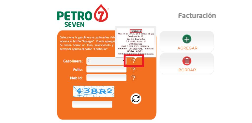 Petro Seven Facturación