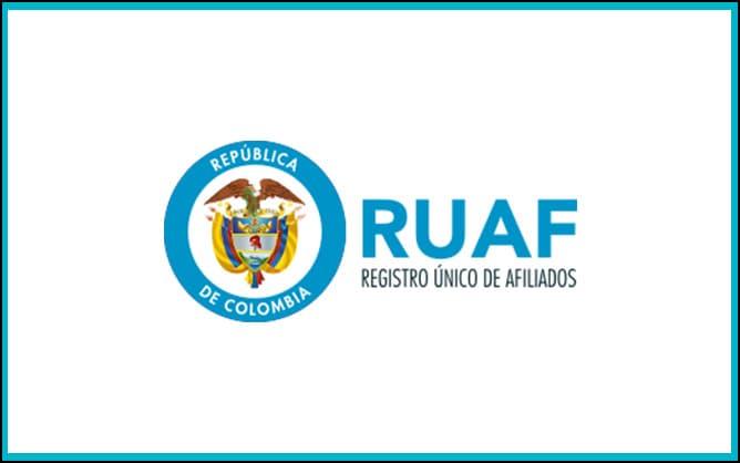RUAF la base de datos para consultar afiliaciones de salud pension o cesantias