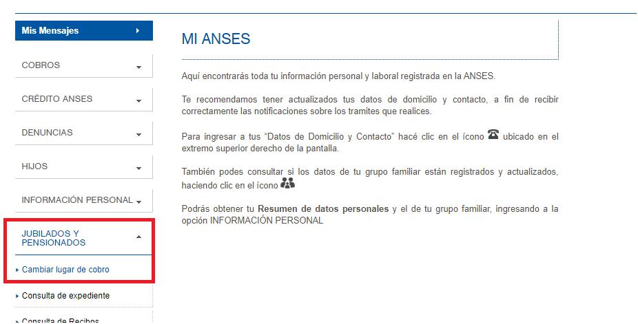 bancos habilitados por ANSES para cobro de jubilación
