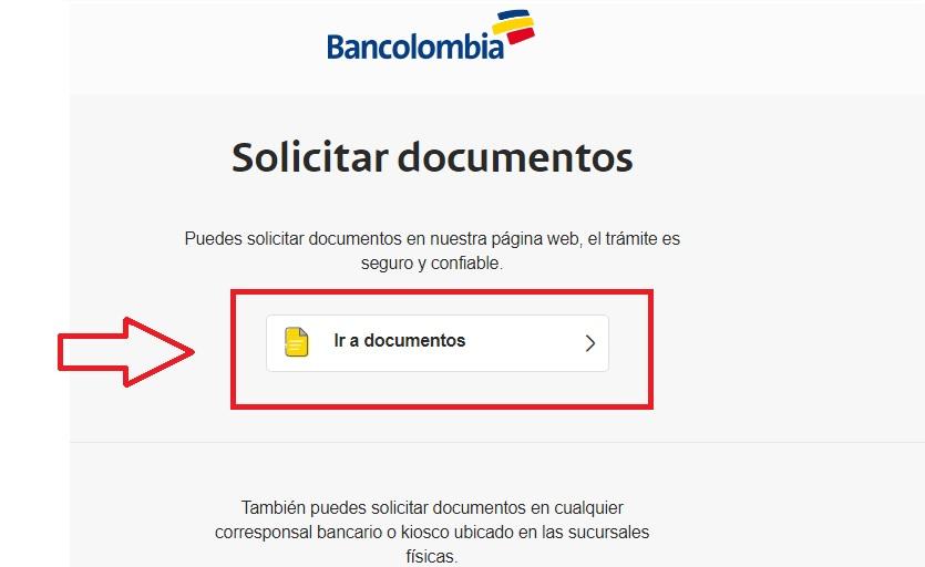 certificado bancario bancolombia